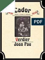Joan Pau Verdier - Bio Et Disco