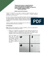 Guiìa 7 - POSICION DE LA FUENTE DE LUZ SOBRE LOS OBJETOS