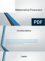 Matematica Financeira alterações gabriel