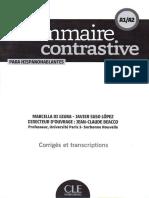 Grammaire_contrastive_A1-A2_HISPANOPHONES corriges_et_transcriptions