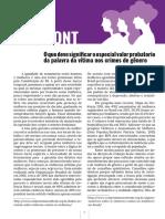 O que deve significar o especial valor probatorio da palavra da vítima nos crimes de gênero - Janaina Matida.pdf