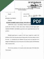 Carla E. McCormick v. Richard D. McCormick, Petition To Modify Child Custody, Visitation And Child Support, March 14, 2013, Case no. 13-1-2273-52, Cobb County (GA) Superior Court