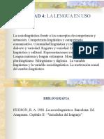 Variedades lingüísticas HUDSON
