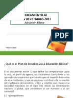 PPT PLAN DE ESTUDIOS 2011