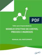 Participante- costos, precios e ingresos