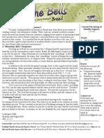 Bell Prayer Letter (Aug-Sept 2010)