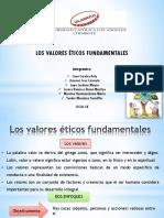 Los valores éticos fundamentales