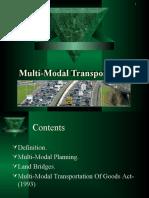 Multi-Modal Transportation