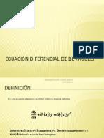 Ecuación diferencial de Bernoulli.ppsx