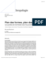 Plan des formes, plan des forces