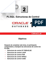 PLSQL 2 Estructuras de Control
