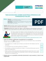 FICHA DE AUTOAPRENDIZAJE MATEMÁTICA -SESION EVALUACIÓN SEXTO GRADO.pdf
