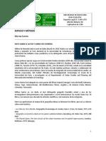ESPACIO Y METODO Milton Santos