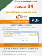 Ejercicio 04 - Algoritmo Numero Par.pdf