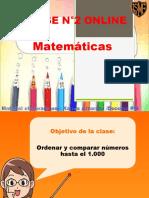 clase °2 ONLINE MATEMATICAS