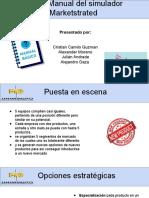 manual del simulador Markestrated