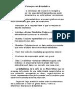 Conceptos de Estadística, Clasificacion.doc