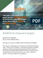Sukkot La Fiesta de La Alegría