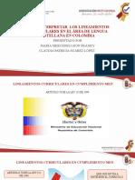 DIAPOSITIVAS LENGUA MATERNA CLAUDIA SUÁREZ - MARIA MERCEDES LEÓN