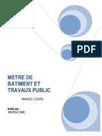 metre de batiment et tp.pdf