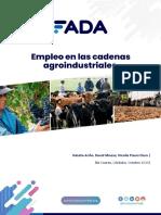 Empleo Cadenas Agroindustriales. FADA. Oct 20