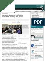 Mundoofertas Muestrasgratis en Cincodias Las Webs de Compra Colectiva Cautivan Cliente Pyme 280111