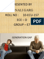 generation gap documents similar to generation gap