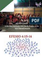 PRESENTACION MINISTERIO DE MATRIMONIOS