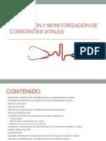 VALORACIÓN Y MONITORIZACIÓN DE CONSTANTES VITALES