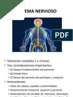 exploración de sistema nervioso