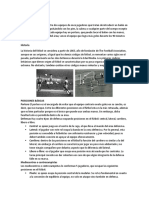 FUTBOL PASES ZONAS CONTACTO POSICIONES
