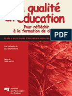 La qualite en education