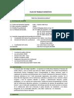 Plan de Trabajo Específico Básica 2020