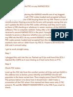 KAFAS2 FSC Loading