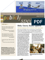 Publicly Speaking - Newsletter from the AMA-MSS Committee on Global and Public Health