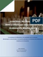Estrategias Metodológicas para la Enseñanza de la Matemática en EGB
