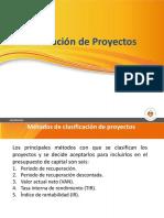 Indicadores evaluación de proyectos