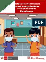 CARTILLA DE ORIENTACIONES SOCIO EMOCIONAL