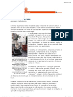 Revista Téchne - Argamassa Projetada