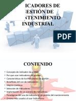 003 - Indicadores de Gestion de Mantenimiento Industrial