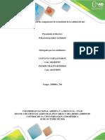Tarea 2 - Identificar los componentes de la medición de la calidad del aire