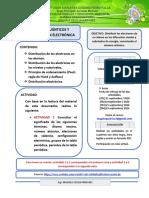 Guía 1 Configuración electrónica