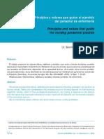PRINCIPIOS Y VALORES EN EL PROFESIONAL DE ENFERMERIA