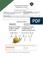Guía N°2 de matemática, propiedades de la adicón
