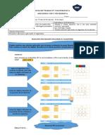 Guía N°3 de matemática, sumar aplicando el algoritmo