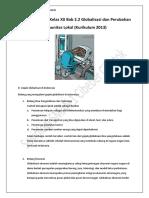 Materi Sosiologi Kelas XII Bab 2.2 Globalisasi dan Perubahan Komunitas Lokal (Kurikulum 2013)