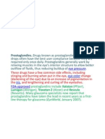 drugs used in glaucoma