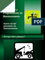 004 - Planeacion y Programacion en Mantenimiento