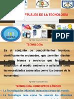Bses conceptuales de la tecnología