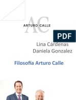 Arturo Calle preguntas